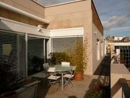 Terrace by Maroto e Ibañez Arquitectos