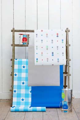 lief! lifestyle behang: landelijke Kinderkamer door lief! lifestyle