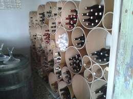 Bodegas de vino de estilo moderno por Esigo SRL