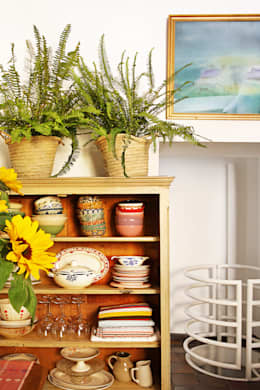 mediterranean Living room by Casa Josephine