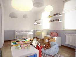 Chambre d'enfant de style de style Minimaliste par grupa KMK sp. z o.o