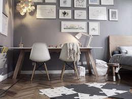 Muebles y decoración de dormitorios: Dormitorios de estilo escandinavo por KRETHAUS