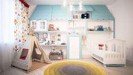scandinavian Nursery/kid's room by KYD BURO