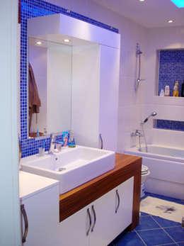 AR-ES MİMARLIK TİCARET LTD STİ – Çekmeköy Evi: modern tarz Banyo