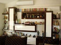 AR-ES MİMARLIK TİCARET LTD STİ – Çekmeköy Evi: modern tarz Oturma Odası