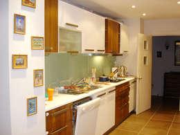 AR-ES MİMARLIK TİCARET LTD STİ – Çekmeköy Evi: modern tarz Mutfak
