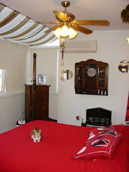 AR-ES MİMARLIK TİCARET LTD STİ – Çekmeköy Evi: modern tarz Yatak Odası