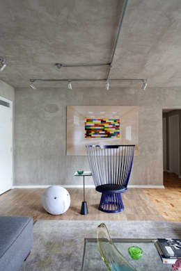 Salas de estilo moderno por Suite Arquitetos