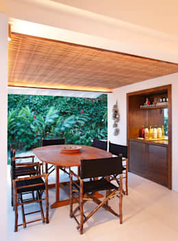 country Dining room by Escala Arquitetura