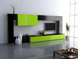 Centros de Tv  INVITO: Salas de estilo minimalista por INVITO