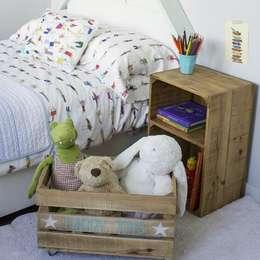 HAPPY HOME BARCELONA: akdeniz tarzı tarz Yatak Odası
