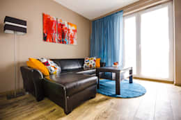 mieszkanie do wynajęcia: styl , w kategorii Pokój multimedialny zaprojektowany przez MMA Pracownia Architektury