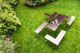 Jardines de estilo moderno por Studio Hartensteiner