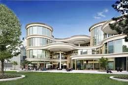 Centres commerciaux de style  par Ortner & Ortner Baukunst Ziviltechnikergesellschaft mbH