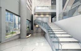 Paredes de estilo  por Tile Supply Solutions Ltd