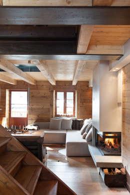 Salas de estilo escandinavo por archstudiodesign