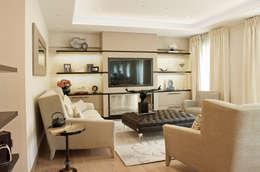 غرفة المعيشة تنفيذ Anna Casa