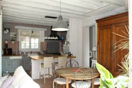 Maison de campagne: Salle à manger de style de style Rustique par Sandra Dages