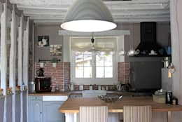 rustic Kitchen by Sandra Dages