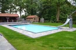 rustiek & brocante Zwembad door RON Stappenbelt, Interiordesign