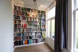 zicht vanuit woonkamer:   door Obliq Architectuur