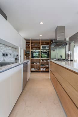 modern Kitchen by ESTUDIO GEYA