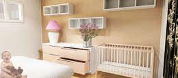 غرفة نوم تنفيذ Caterina Paltrinieri Architetto