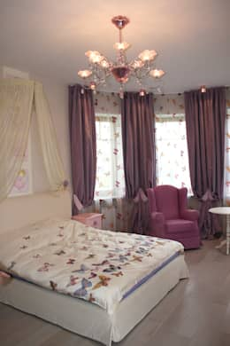 Спальня старшей дочери:  в . Автор – p