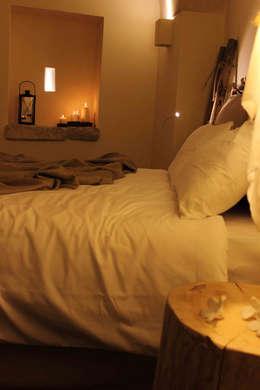 rustikale Schlafzimmer von FRANCESCO CARDANO Interior designer