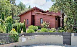 Projekty, nowoczesne Domy zaprojektowane przez HOUSE HABITAT