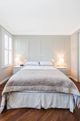 Projekty,  Sypialnia zaprojektowane przez CATO creative