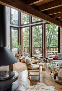 moderne Woonkamer door HOUSE HABITAT