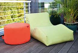 Balcones y terrazas de estilo moderno por Global Bedding GmbH & Co.KG