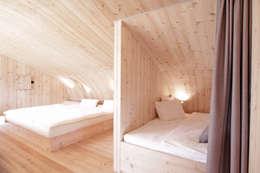Спальни в . Автор – Aberjung Design Agency