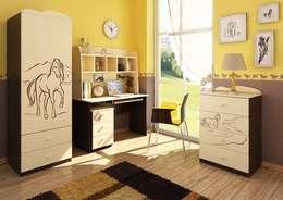 Детские комнаты в . Автор – Möbelgeschäft MEBLIK
