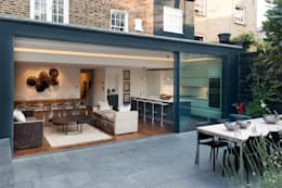 London Townhouse: modern Houses by The Silkroad Interior Design