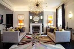 Ruang Keluarga by SB design Studio