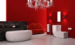 Salle de bain de style  par AC Studio