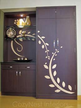Comedores de estilo moderno por Cozy Nest Interiors