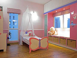 Chambre d'enfant de style de style Moderne par Cozy Nest Interiors