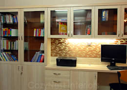 modern Study/office by Cozy Nest Interiors