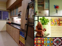 ausgefallene Küche von Cozy Nest Interiors