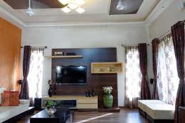 Гостиная в . Автор – Cozy Nest Interiors