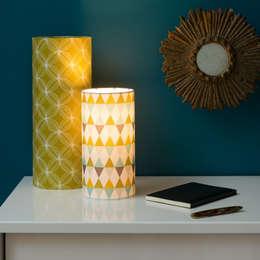 Lampes d'ambiance: Chambre de style de style eclectique par Fabuleuse Factory