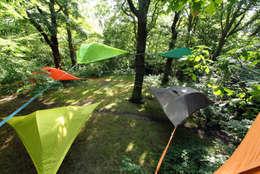 Jardines de estilo moderno por Tentsile