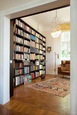 bibliothek f r zuhause. Black Bedroom Furniture Sets. Home Design Ideas