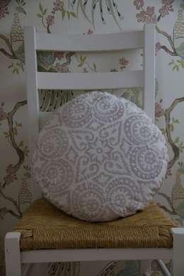 Projekty,  Salon zaprojektowane przez Atelier Textiles