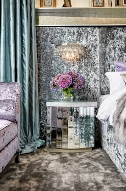 eclectic Bedroom by White Linen Interiors Ltd