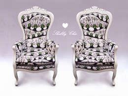 Chippendale Sessel Moderne Wohnzimmer Von AnneS Shabby Chic
