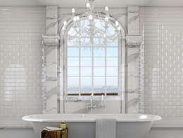 Baños de estilo  por Outsourcing Interior Design